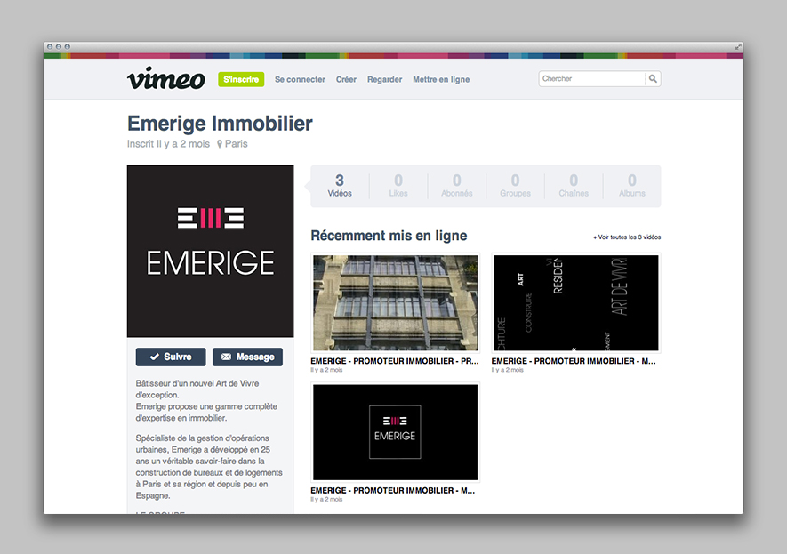 Emerige - Community managment - Ynfluence - agence de communication globale Paris