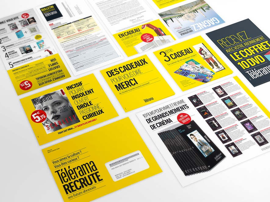 Campagne mailing marketing direct